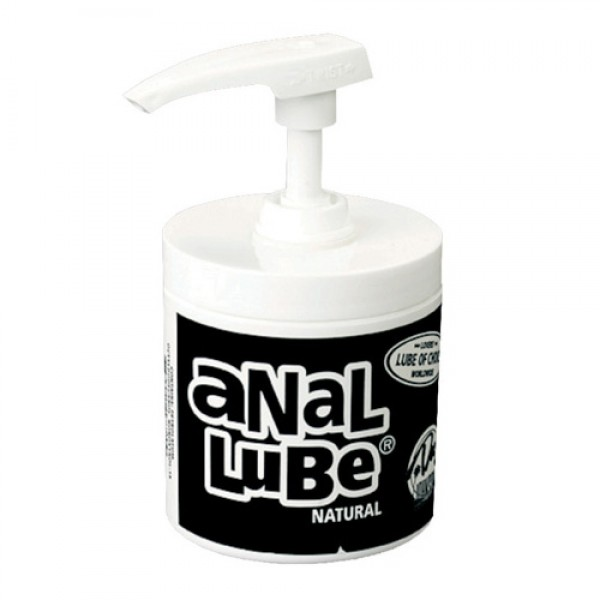 Anal Lube Natural In Pump Dispenser 135ml